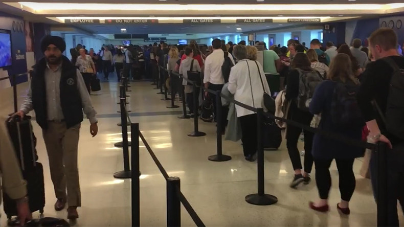 'Are you f**king kidding me?': YouTube video showcases ludicrously long TSA line