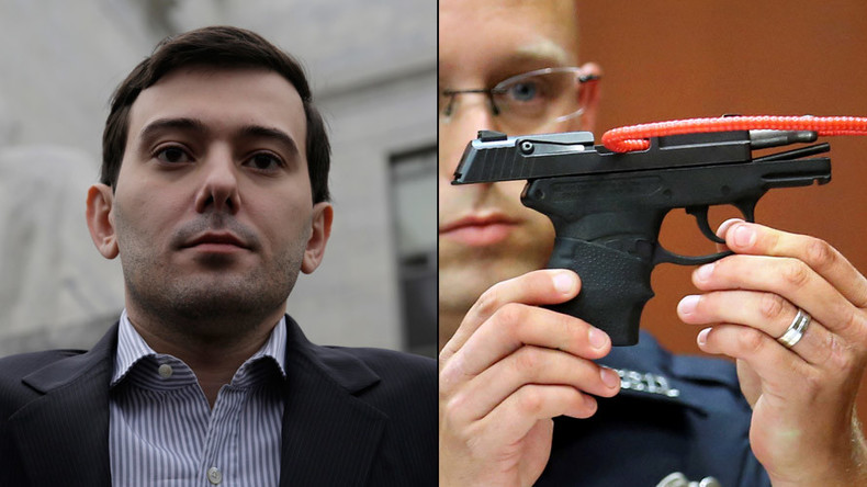 Martin Shkreli wants Zimmerman's gun that killed Trayvon Martin now up for auction