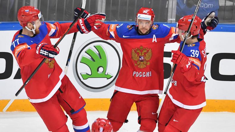 Russia, Canada & Finland win again on Hockey World Championships Day 9