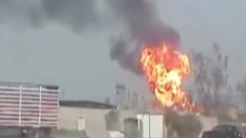 ISIS bombs Baghdad cooking gas factory, kills 14 (VIDEOS)