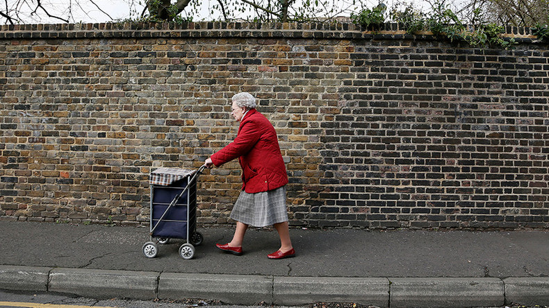 'WWII generation suffers in silence': 20% of Britain's over 75s are living in poverty