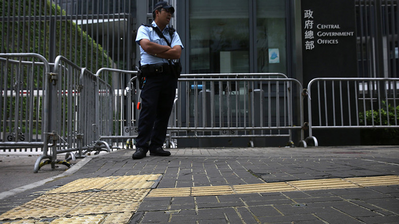 No stone unglued: Hong Kong secures bricks as safety measure ahead of Chinese official visit