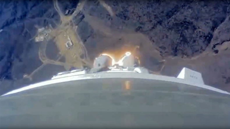 Stunning VIDEO of first-ever rocket launch from Russia's new spaceport