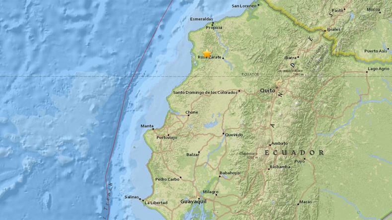 2 powerful earthquakes rock Ecuador within 24hrs, 1 dead