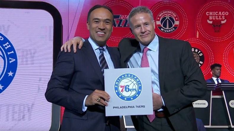 Philadelphia 76ers win 2016 NBA draft lottery