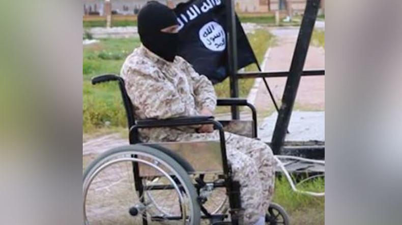 Wheelchair-bound ISIS executioner terrorizes 'cursed' Libyan city of Sirte (PHOTO)