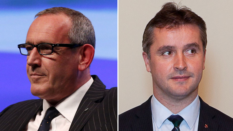 'Love triangle' MPs exposed in 'infidelity & expenses' scandal