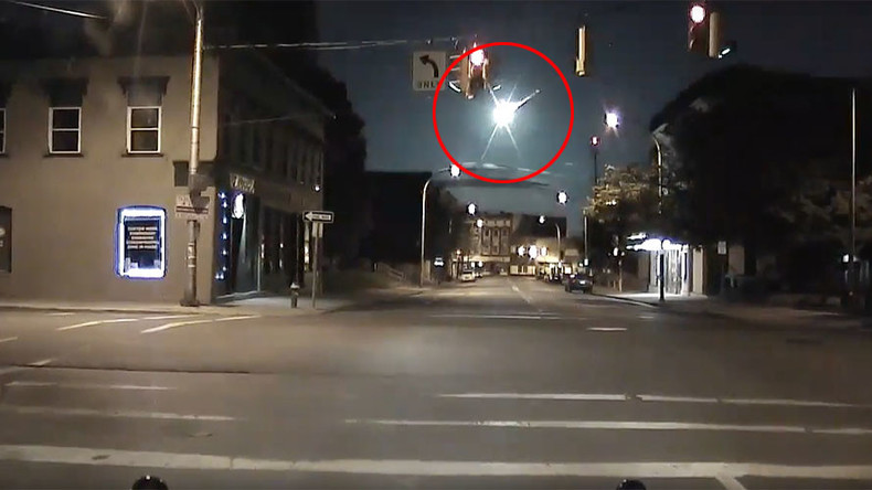 Meteor spectacularly shoots through sky in New York State (VIDEO)
