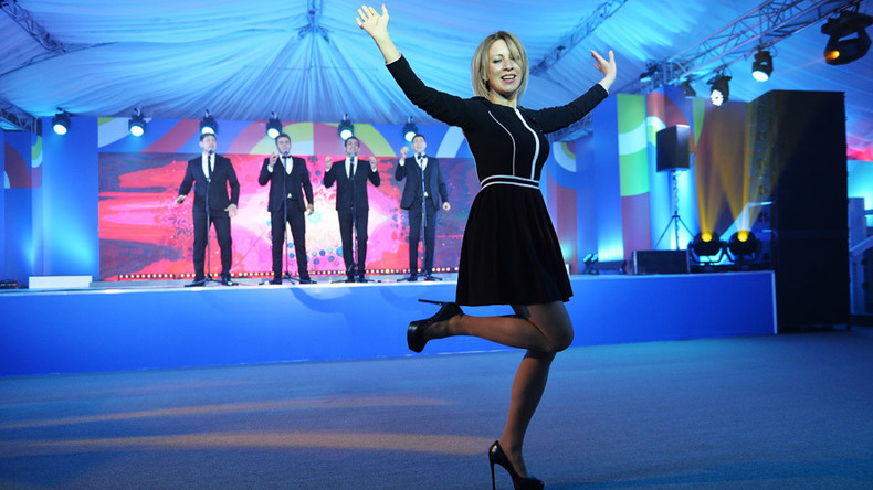 Dancing diplomacy: Russian Foreign Ministry spokeswoman wows ASEAN with fiery folk dance