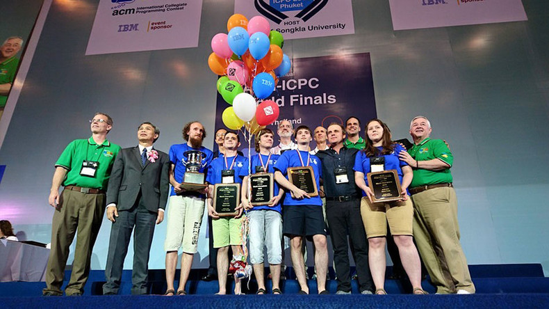 Coding-savvy Russia students best China & US to win 'programming world championship'