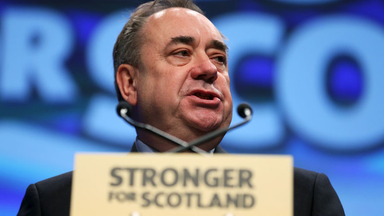 Leave the EU? Then Scotland will leave Britain! Salmond sends Brexit warning