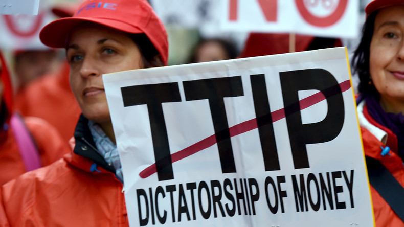 Government capitulation on TTIP driven by unlikely Tory-Labour alliance
