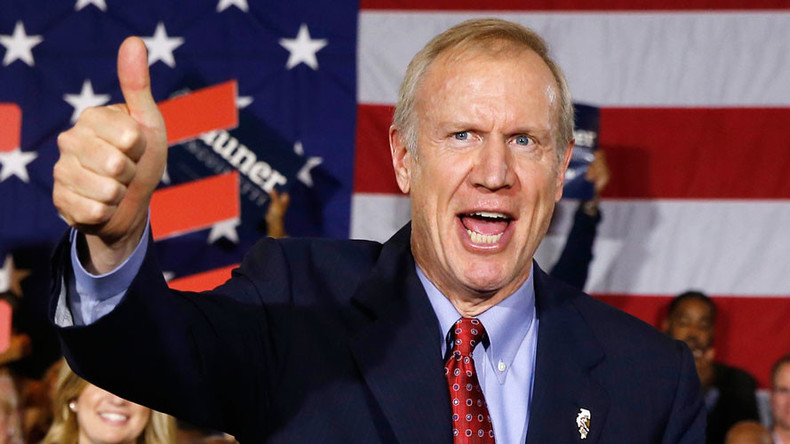 Right-wing Illinois governor censors criticism in quest to become 'dictator'