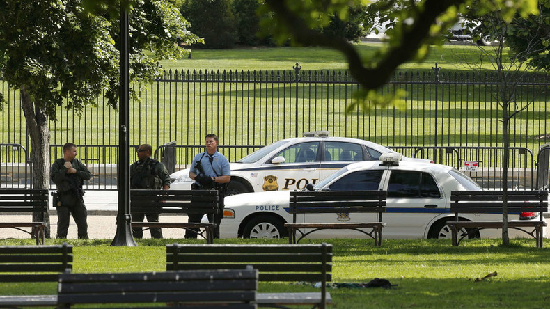 Shots reported near the White House, area on lockdown