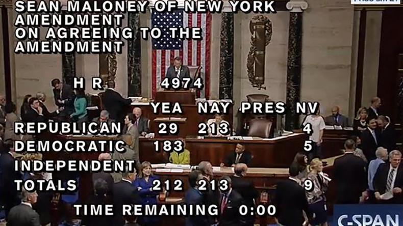 House Republicans vote down LGBT rights measure