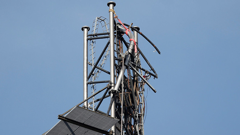 Really? 'Russia destroys Swedish TV mast ... over Eurovision loss'