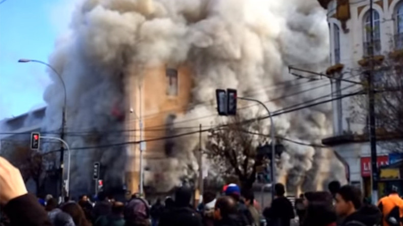 One reported dead following anti-government riots in Chile (PHOTOS, VIDEO)