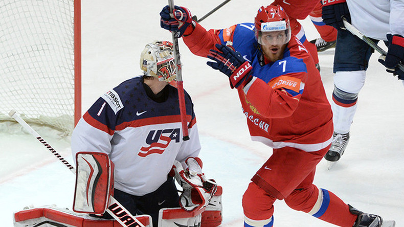 Russia destroys US 7-2 to claim bronze at Ice Hockey World Championships