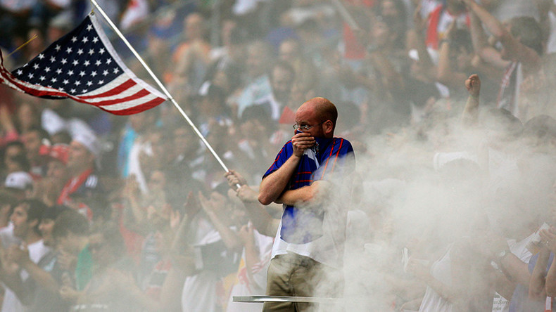 Hooliganism proves US sports fans have finally embraced soccer (VIDEO)
