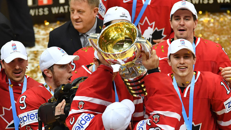 Canada becomes 2016 Ice Hockey World Champions, defeating Finland 2-0 in Moscow final