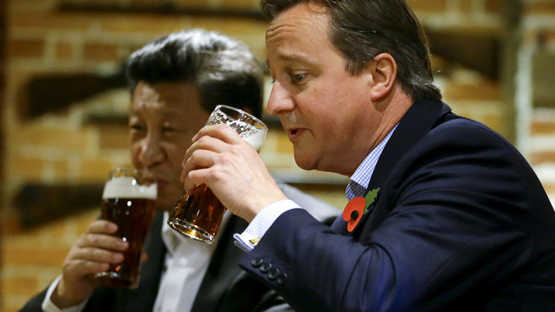 Cameron's new BFF? UK faces US & Japanese ire at G7 after 'love-bombing' China