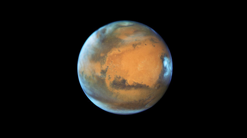 Hubble telescope captures Mars image on eve of opposition phenomenon