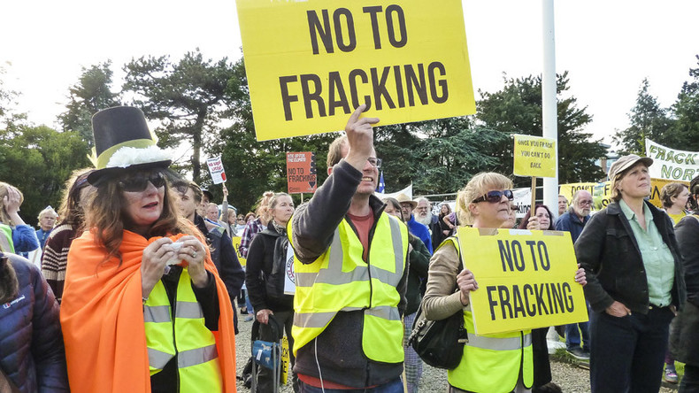 'Declaration of war': North Yorkshire fracking approval sparks outrage