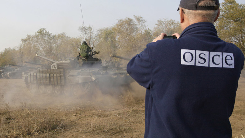 East Ukraine rebels oppose presence of armed OSCE police, 'would consider it intervention'