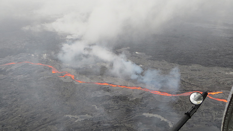 Hot rocks: Incredible new lava flows released from Hawaiian volcano (PHOTOS, VIDEO)