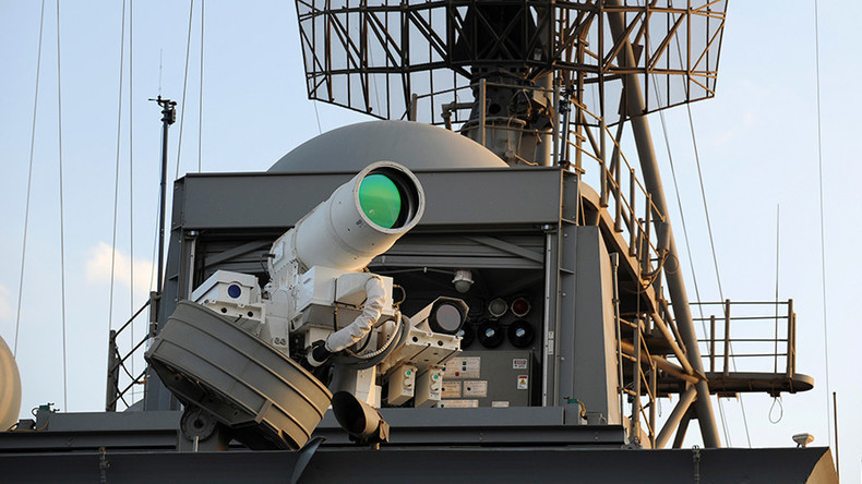 Ship-mounted laser cannon tops British military's wish list