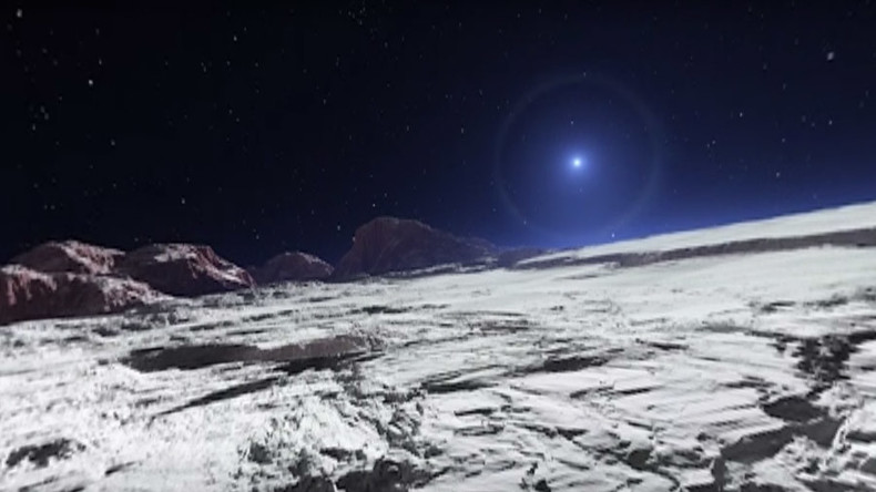 Out of this world: Amazing virtual reality tour of Pluto in unbelievable detail (360 VIDEO)