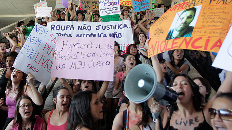 Gang rape of teenage girl in Brazil by more than 30 men sparks online outrage