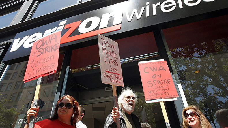 Verizon, labor union reach deal in principle ending 6-week strike