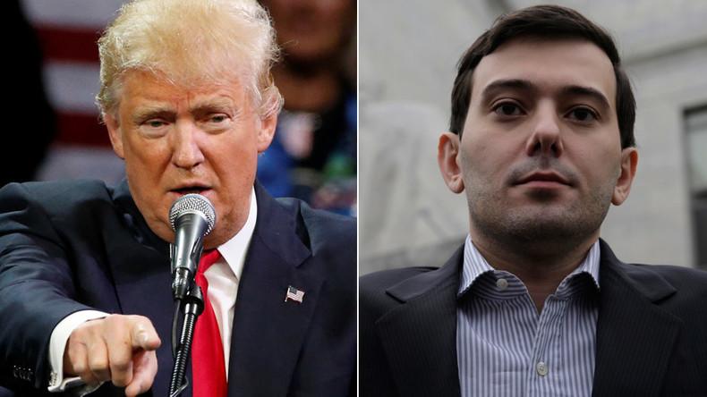 'Pharma Bro' Shkreli endorses Trump, even though he already backed Sanders