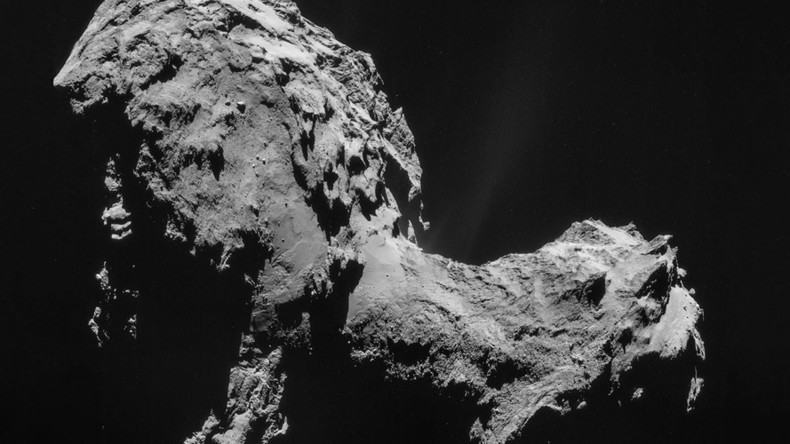 Rosetta spacecraft finds 'vital ingredients' of Earth life in comet dust