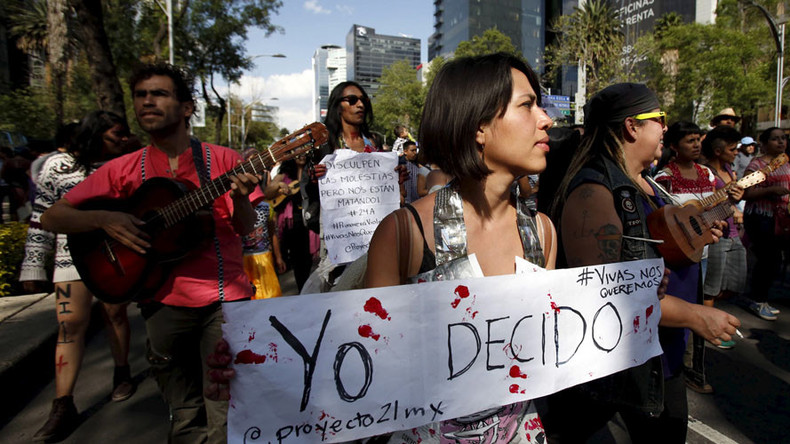 Blow on this: Mexico City mayor attacked for giving out 'rape whistles' to combat epidemic