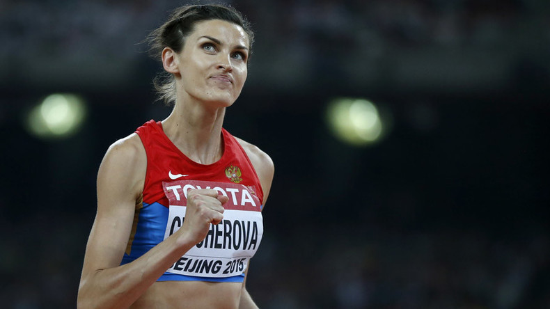 Anna Chicherova continues to compete, no restrictions from IAAF