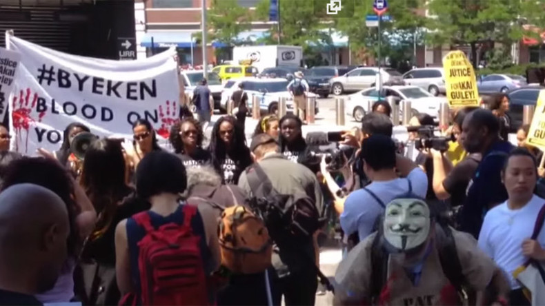'Blood on your hands': Protesters demand 'Justice for Akai' in Brooklyn (PHOTOS, VIDEO)