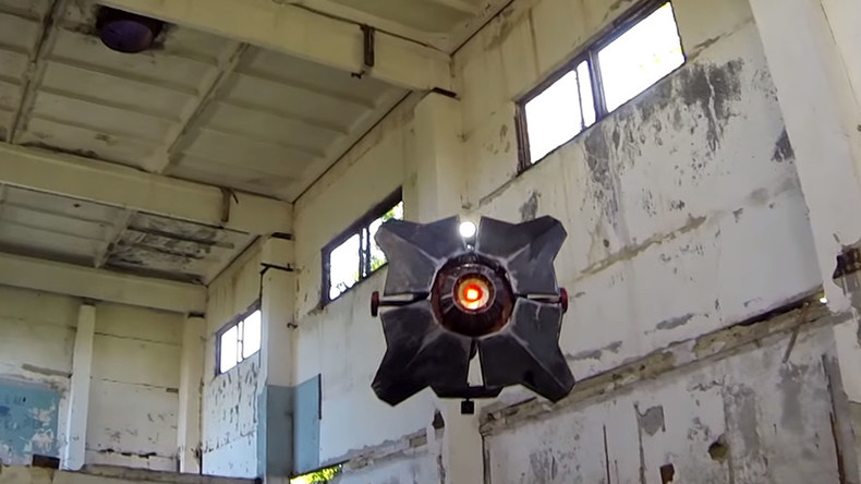 VIDEO: Half-Life 2 Combine drone becomes reality in Russia