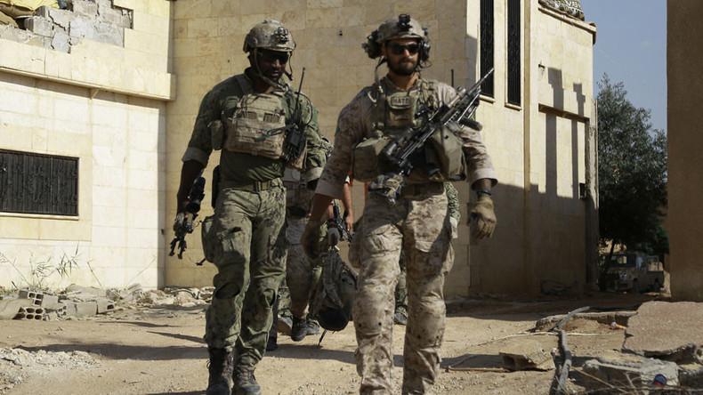 'Terrorist' Kurdish badges on US soldiers 'unsuitable' for US-Turkey relations - deputy PM