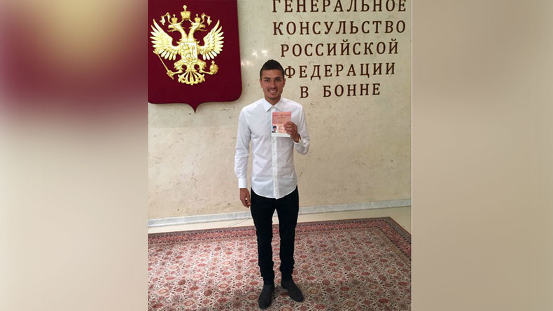 Neustadter gets Russian passport ahead of Euro 2016