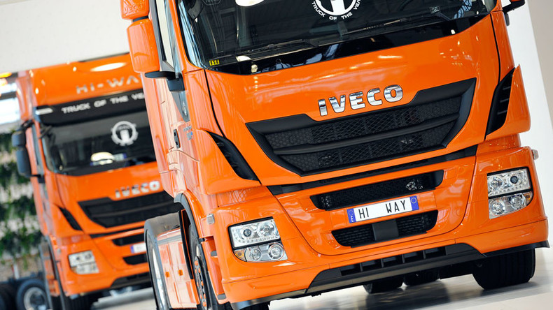Truck makers facing record cartel fines from Brussels
