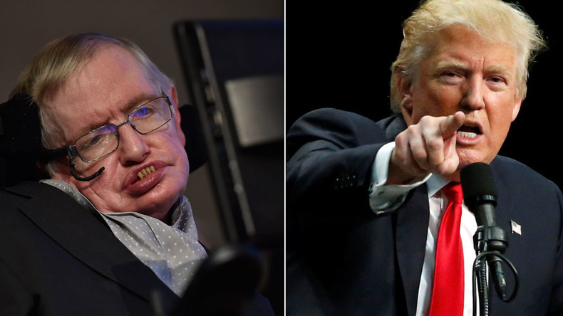 Genius Stephen Hawking baffled by rise of 'demagogue' Donald Trump