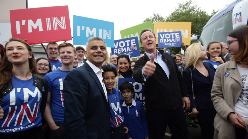 Brexit flip-flop: 'David Cameron changes tune on new London mayor'