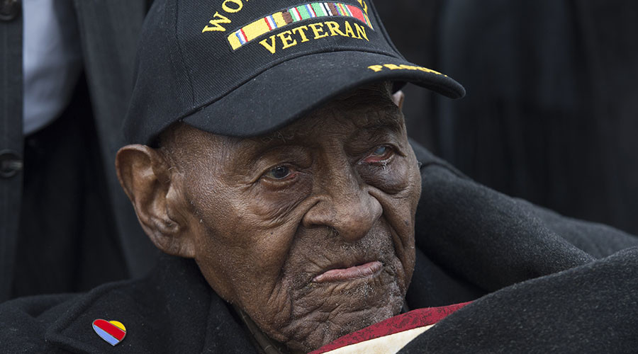 Oldest US WWII veteran dies at 110