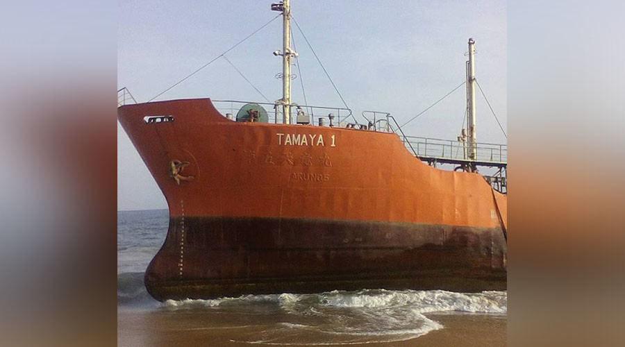 Ghost ship: Mystery oil tanker washes up in Liberia with no crew (PHOTOS)