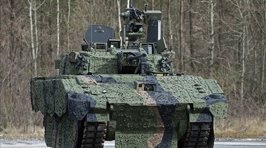 What steel crisis? 100 British 'supertanks' to be built with Swedish steel… in Spain