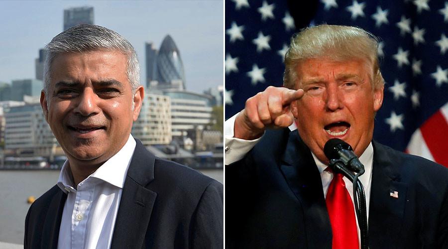 London's new Muslim mayor Sadiq Khan rejects 'ignorant' Trump's US ban 'exemption'