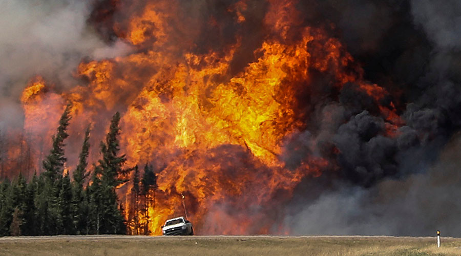 Canada wildfire curbs oil supply keeping prices stable