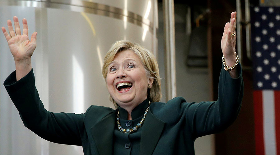 Clinton is the Wall Street candidate based on donation figures - report